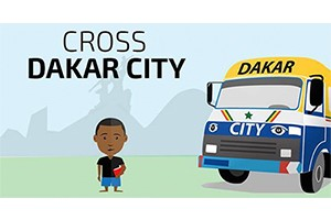 Cross Dakar City: gaming to highlight child poverty